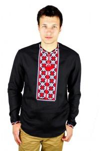 Рубашка вышитая крестиком «Пасхальная»  М-404-13