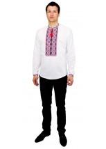 Рубашка вышитая крестиком «Пасхальная» М-404-8