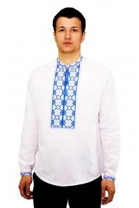 Рубашка вышитая крестиком «Пасхальная»  М-404-7