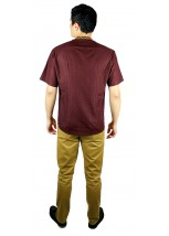 Рубашка вышитая крестиком «Пасхальная» М-404-10