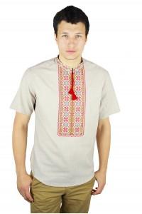 Рубашка вышитая крестиком «Пасхальная» М-404-12