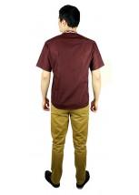 Рубашка вышитая крестиком «Пасхальная» М-404-11