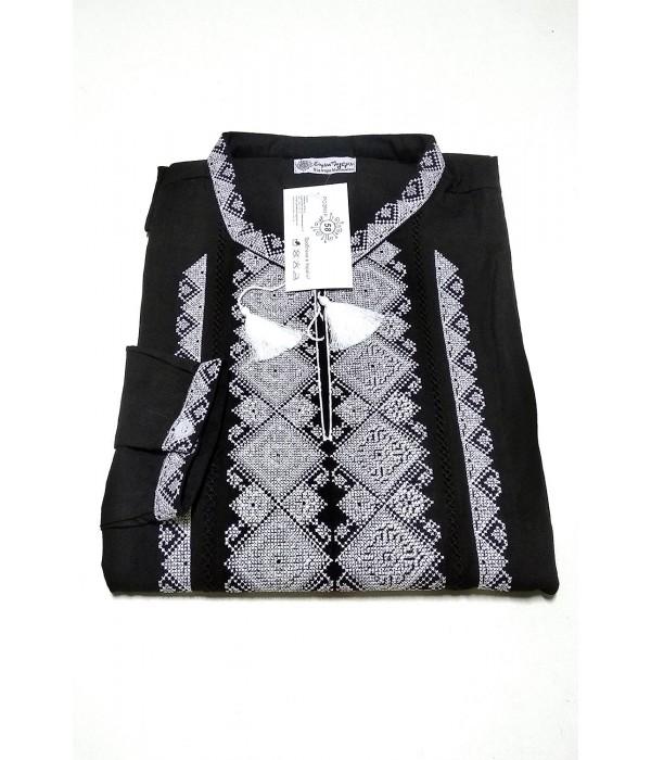 Рубашка вышитая мужская М-424-12, Рубашка вышитая мужская М-424-12 купити