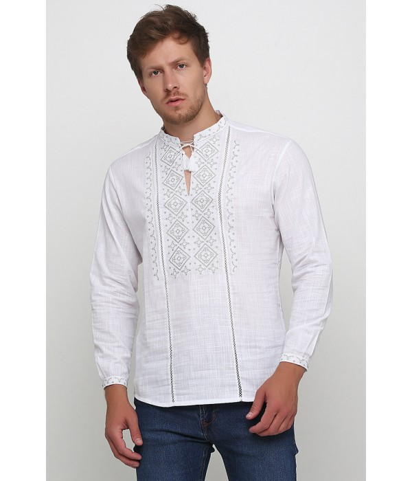 Рубашка вышитая мужская М-424-14, Рубашка вышитая мужская М-424-14 купити