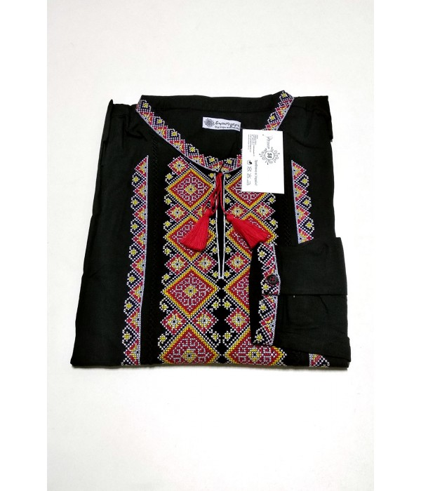 Рубашка вышитая мужская М-424-9, Рубашка вышитая мужская М-424-9 купити