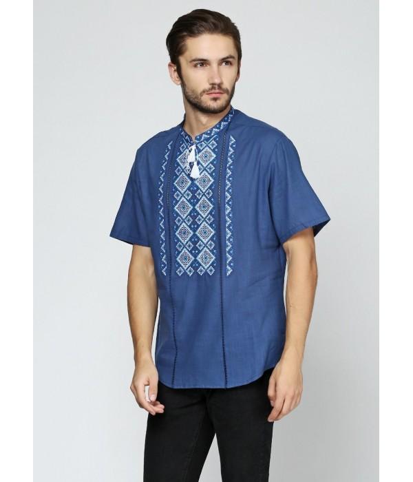 Рубашка вышитая мужская М-424-1, Рубашка вышитая мужская М-424-1 купити