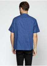 Рубашка вышитая мужская М-424-1