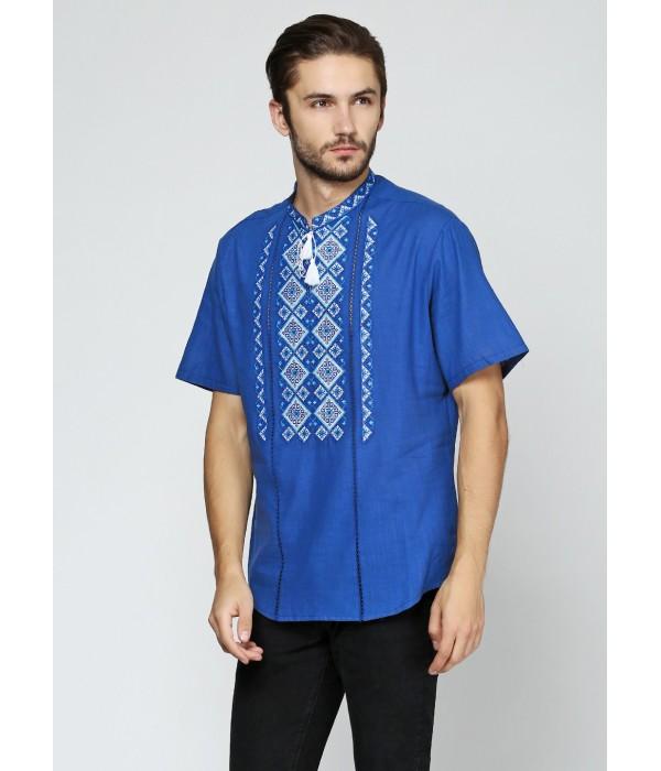 Рубашка вышитая мужская М-424-2, Рубашка вышитая мужская М-424-2 купити