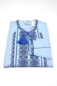 Рубашка вышитая мужская М-424-4
