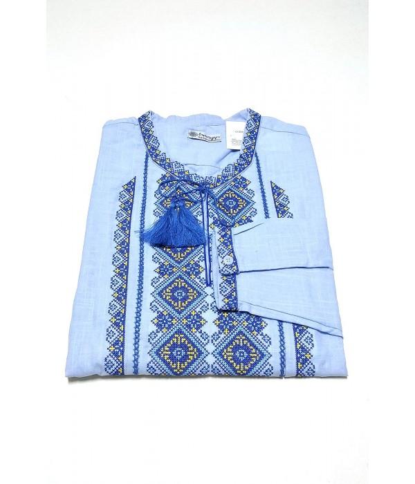 Сорочка вишита чоловіча М-424-4, Сорочка вишита чоловіча М-424-4 купити
