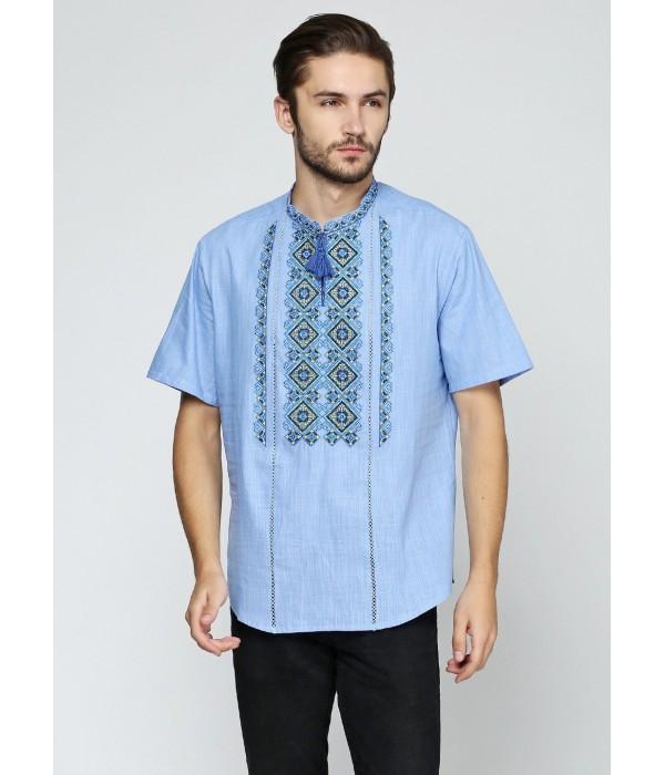 Рубашка вышитая мужская М-424, Рубашка вышитая мужская М-424 купити