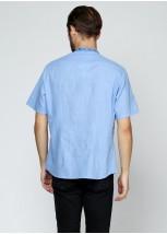 Рубашка вышитая мужская М-424
