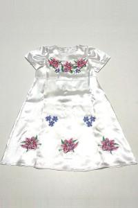 Платье для девочки M-801-3 (100% полиэстер)