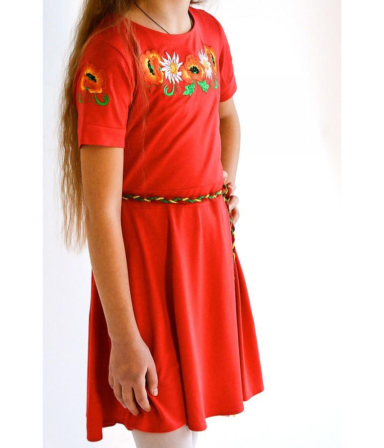 Плаття для дівчинки M-802-2 купити у Львові 8c573ee9b7efb