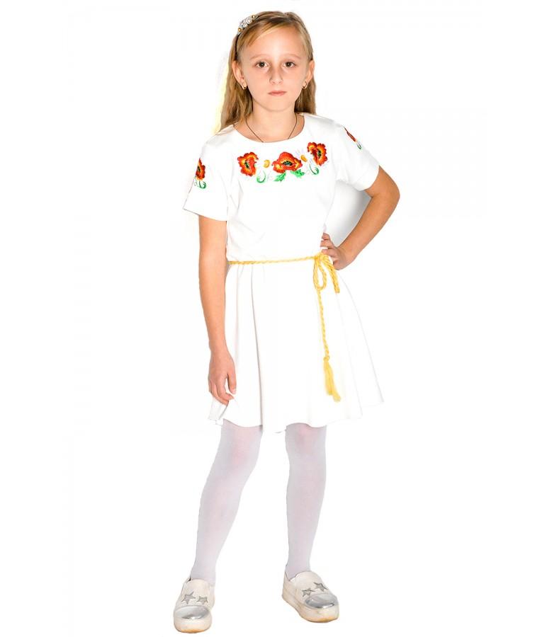 Плаття для дівчинки M-802 купити у Львові 84f0918cc574a
