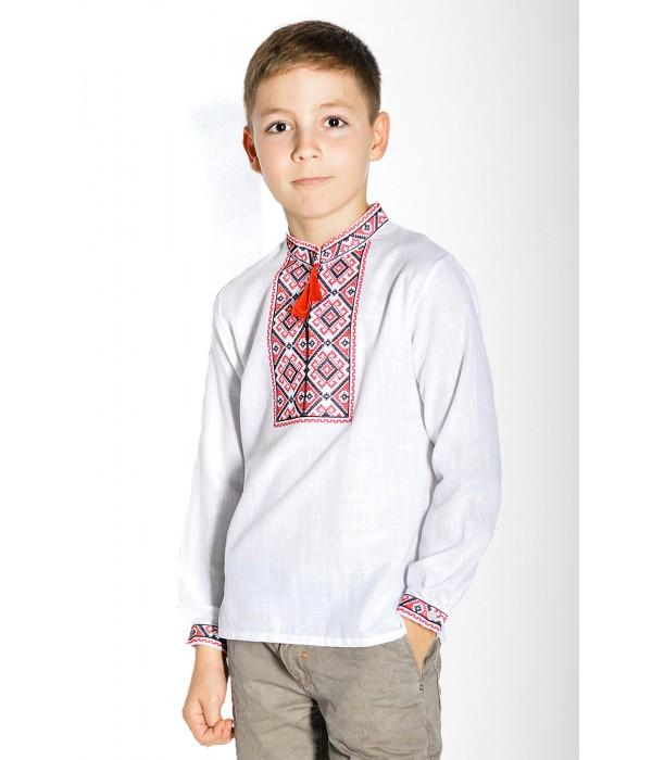 Сорочка білого кольору М-1001-2, Сорочка білого кольору М-1001-2 купити