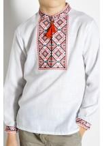 Сорочка білого кольору М-1001-2