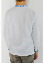 Детская рубашка из натуральной ткани М-1002-4