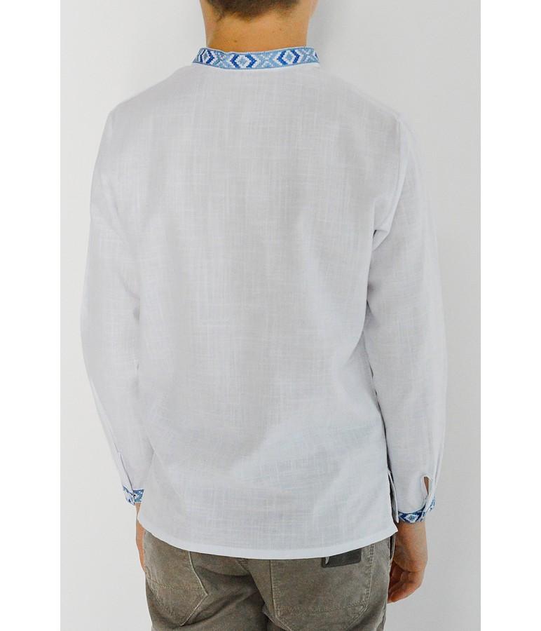 Дитяча сорочка з натуральної тканини М-1002-4 купити у Львові c637181197d9f
