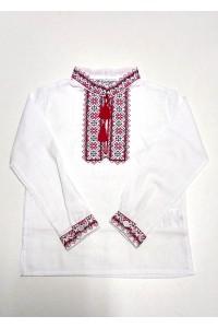 Дитяча сорочка білого кольору М-1009-1