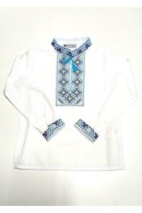 Дитяча сорочка з натуральної тканини М-1010