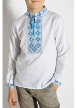 Детская рубашка из натуральной ткани М-1010