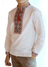 Детская рубашка из натуральной ткани М-1010-1