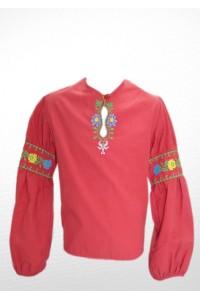 Рубашка вышитая на девочку М-503-2