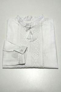 Дитяча сорочка білого кольору М-2014