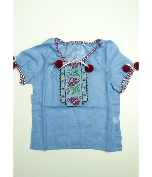 Сорочка вишита на дівчинку М-506-9, Сорочка вишита на дівчинку М-506-9 купити