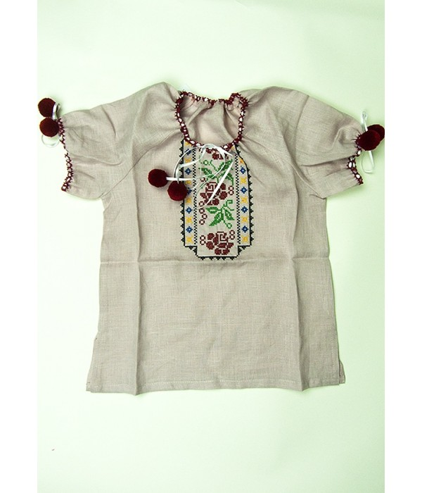 Сорочка вишита на дівчинку М-506-4, Сорочка вишита на дівчинку М-506-4 купити