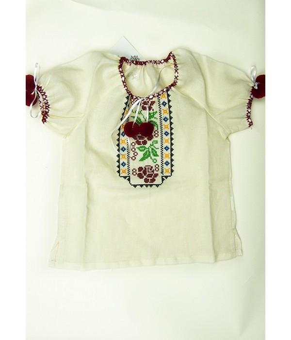 Рубашка вышитая на девочку М-506-3, Рубашка вышитая на девочку М-506-3 купити