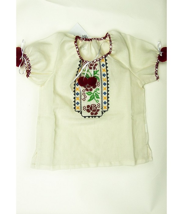 Сорочка вишита на дівчинку М-506-3, Сорочка вишита на дівчинку М-506-3 купити