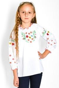 Сорочка вишита на дівчинку М-533