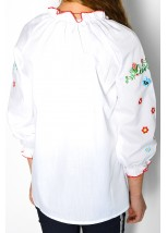 Рубашка вышитая на девочку М-533