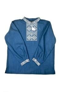 Рубашка из натуральной ткани М-1002