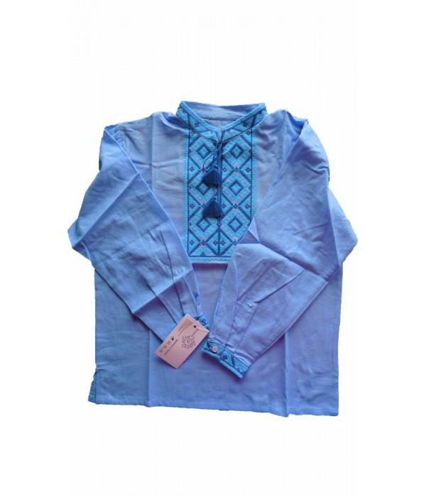 Рубашка вышитая на мальчика М-1001, Рубашка вышитая на мальчика М-1001 купити