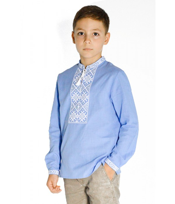 Вышиванка для мальчика Етномодерн М-1002-2, Вышиванка для мальчика Етномодерн М-1002-2 купити