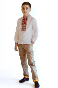 Дитяча сорочка з натуральної тканини М-1010-1
