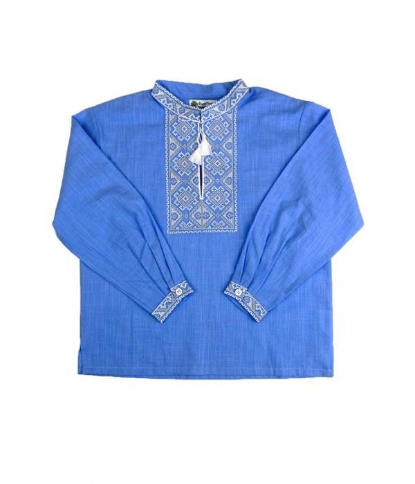 Рубашка вышитая на мальчика М-1001-4, Рубашка вышитая на мальчика М-1001-4 купити