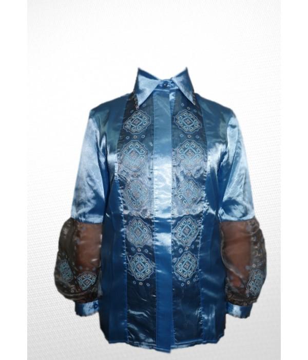 Сорочка вишита жіноча R-007-1, Сорочка вишита жіноча R-007-1 купити