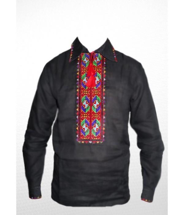 Сорочка вишита чоловіча R-005-1, Сорочка вишита чоловіча R-005-1 купити