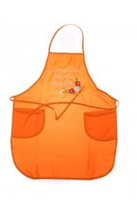 Фартук Лучшая мама в мире Оранжевый