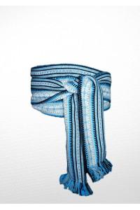 """Пояс вышитый """"Голубого цвета"""" p-2-1"""