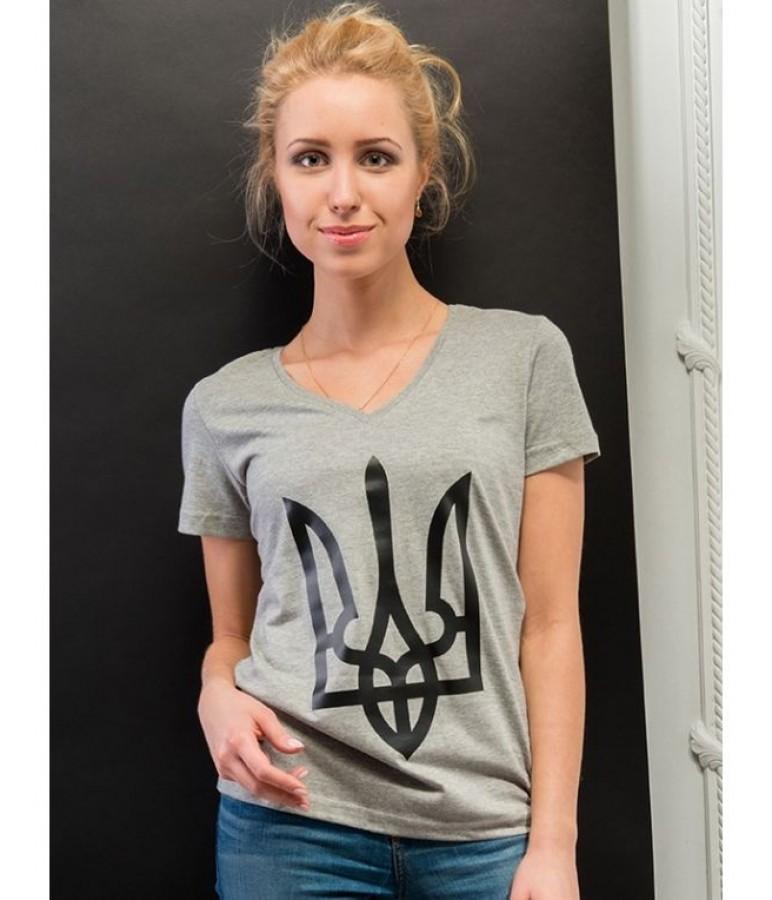 69f1e8f5554e2b Жіноча патріотична футболка