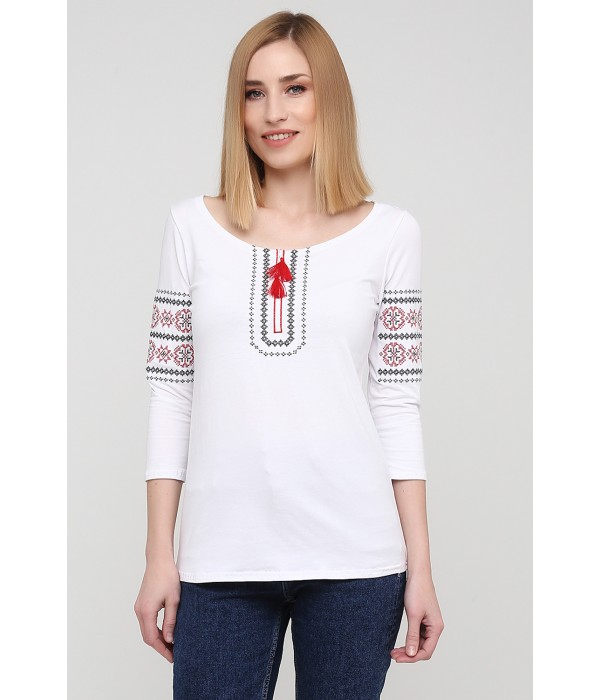 """Футболка """"Львівянка"""" М-709-3, Футболка """"Львівянка"""" М-709-3 купити"""