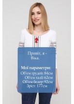 """Футболка """"Львівянка"""" М-709-3"""