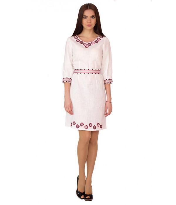 Платье вышитое женское М-1017, Платье вышитое женское М-1017 купити