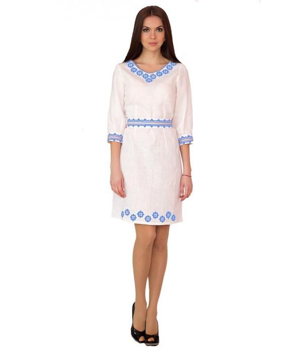 Плаття вишите жіноче М-1017-1, Плаття вишите жіноче М-1017-1 купити