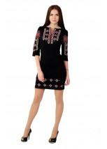 Платье вышитое женское М-1033